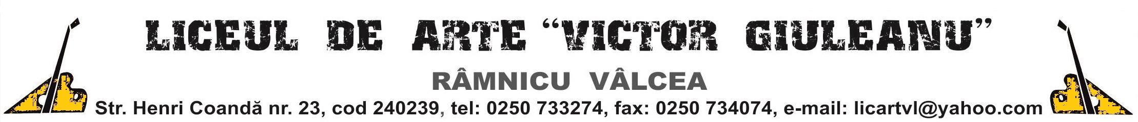 """Liceul de Arte """"Victor Giuleanu"""""""
